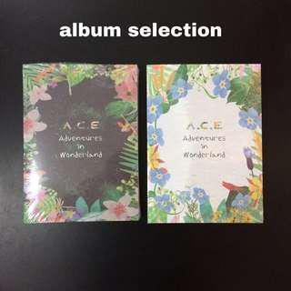 [READY STOCK] A.C.E 1st Repackage Mini Album 'Adventures in Wonderland'