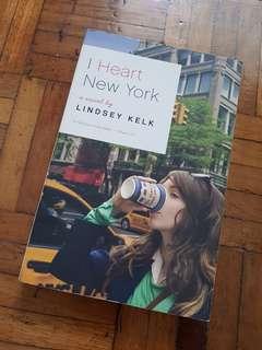 I Heart New York a Novel by Lindsey Kelk