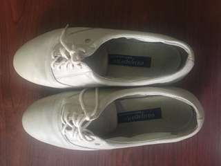 Oxford  leather shoes(beige)