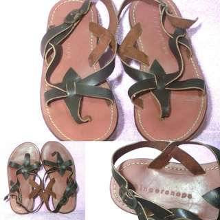 Gingersnaps Leather Sandals