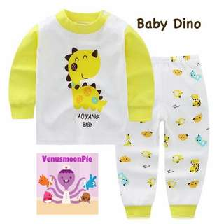 Baby Dino kids pajamas set