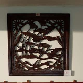 Vintage Chinese Carved Screen (No 37#)