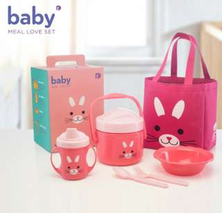 Baby meal love set