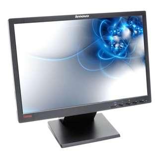 "Lenovo L197WA 19"" LCD Monitor (16:10, 1440x900, VGA, DVI)"