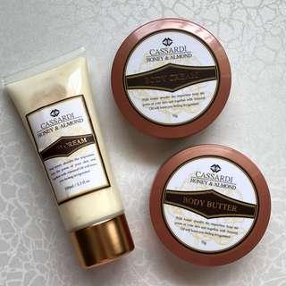 Cassardi Body Cream / Body Butter / Hand Cream