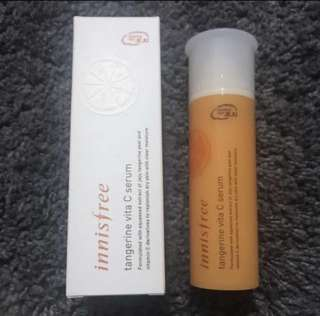Innisfree Tangerine Vita C Serum (Fresh from korea)