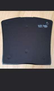 Split fish Mouse pad