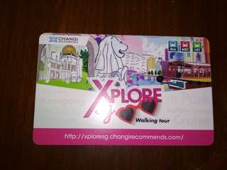 Singapore MRT/LRT/BUS card