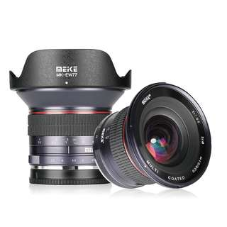 Meike 12mm F28 Ultra Wide Manual Prime Lens Canon Mirrorless EF-M Mount