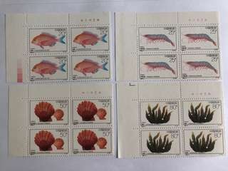 🚚 Prc china 1992-4 Breeding Projects in blk of 4 mnh