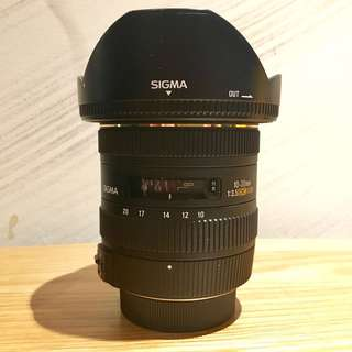 SIGMA 10-20mm f3.5 Nikon F-mount