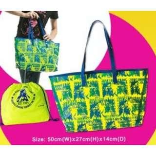 全新 HYSTERIC Glamour 兩用 沙灘袋 防水超大沙灘袋 一套2個