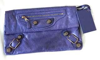 Balenciaga Clutch 紫藍色