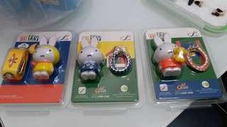 Miffy  八達通 ($280/隻, $800/套)
