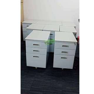 MOBILE PEDESTAL FLUSH HANDLE CABINET