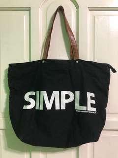 Big Simple Tote Bag