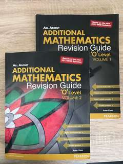 'O' level Additional Math Revision Guide Vol 1 & 2