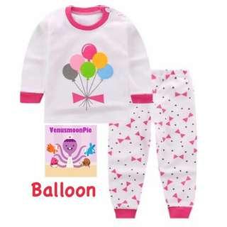 Balloons kids T-shirt set