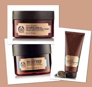 The Body Shop Spa of the World Bundle