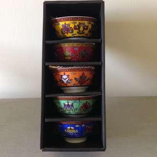 Chinese nyonya bowls