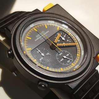 NOS Seiko Alien 7A28-7000 vintage chronograph