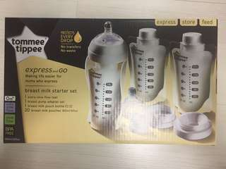 Tommee Tippee Breast milk starter set
