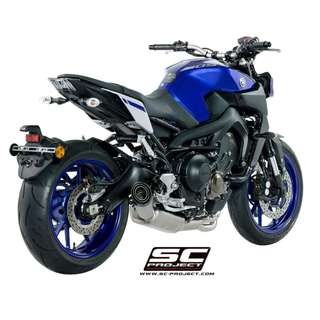 SC-Project Full System Exhaust for MT-09/XSR900/Tracer 900