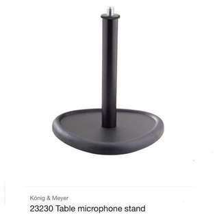 König & Meyer - Table Mic Stand