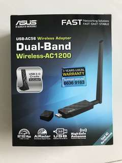 Asus USB AC56 Wireless Adapter Dual Band AC1200