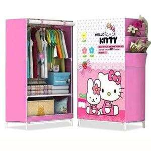 Lemari Hello kitty simple multifungsi