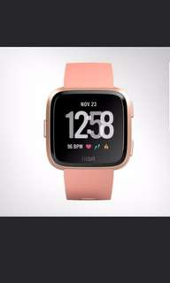 Fitbit Versa smartwatch Heart Rate + Activity Tracker, Apple watch 3,ionic, Huawei, gear sport, s3