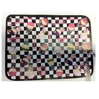 旅行/保溫用品 - 全新 Harajuku Lovers 毛毯 絨氈 W120 x H90 cm 毯子 抓毛氈 方便上飛機/搭車/巴士