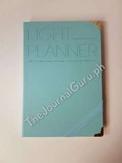 Light Planner SALE avail in Fuschia Pink, Pastel Green and Light Blue