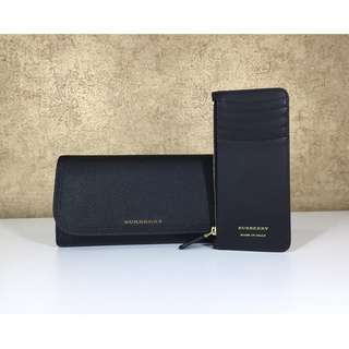 BURBERRY 4060955 SOFT GRAIN 2 IN 1 WALLET WITH CARD CASE