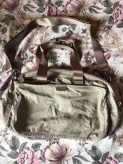 Agnes b 米色 細袋 旅行袋 95%New