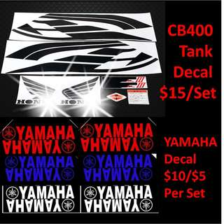 Honda CB400 super 4 super4 CB400SF Sticker triangle tailboard spec 3