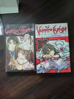 Vampire Knight/captive heart Manga