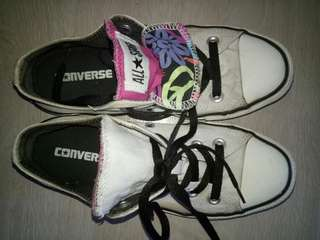 Two-way Original Converse shoes for women (refer to photos)