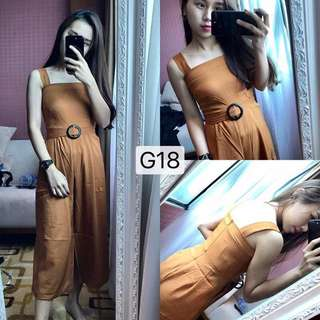 G18 Jumpsuit  ( Ready Stock )