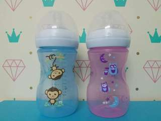 Avent bottle decorated