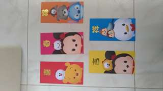 Tsum Tsum design angpow/ ang pow / red packets