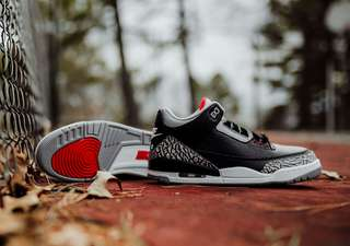 Air Jordan 3 Retro OG Black Cement BG