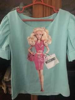 Blouse barbie