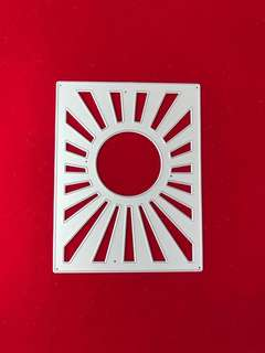 Background sun scrapbook Cutting dies