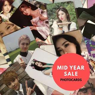 BUY 2 GET 1 FREE PHOTOCARD SALE CLEARANCE [MID YEAR SALE]