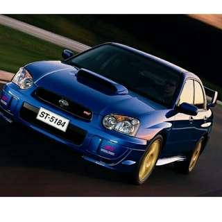 Subaru Impreza WRX Version 8 (MT) Wanted