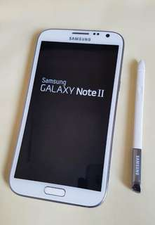 Samsung Galaxy note 2 4g LTE open line with acesress