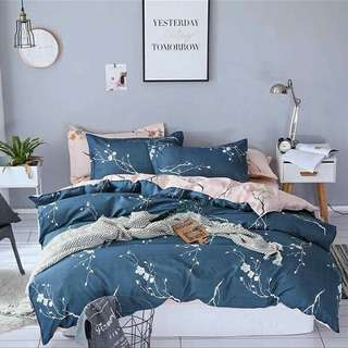 FREE POS Ready Stock Comforter Bedsheet Set 7 In 1