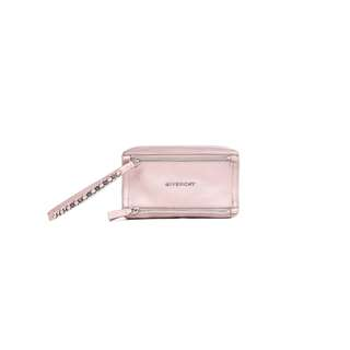 GIVENCHY - 粉紅色PANDORA牛皮腕繩手拿包