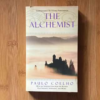 Paperback - The Alchemist